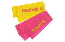 Reebok Toning Bands magenta/yellow
